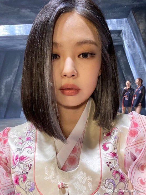 Jisoo Jennie BLACKPINK Weibo