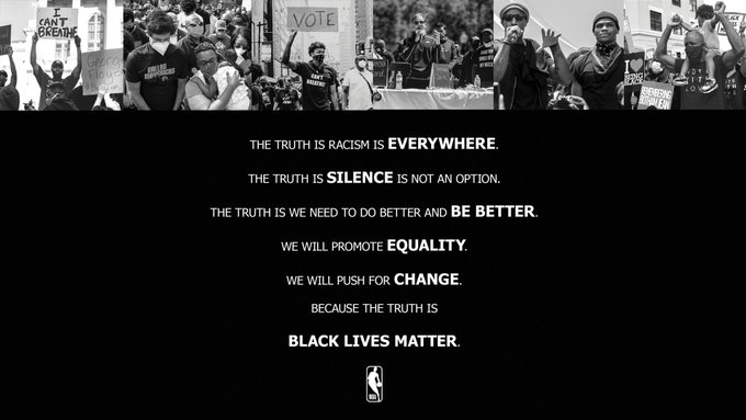 The truth is #BlackLivesMatter. https://t.co/nnnegG5Nac