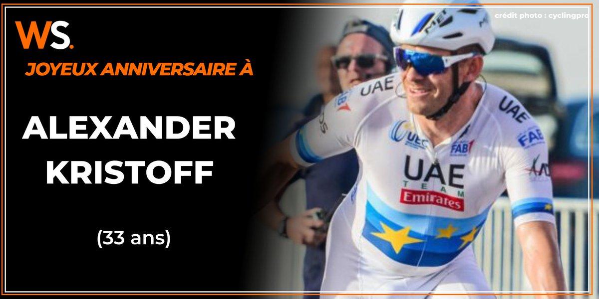 Alexander Kristoff a 33 ans aujourd'hui. Le norvégien a remporté 4 Eschborn-Frankfurt, 3 GP du canton d'Argovie, le Ronde, Milano-Sanremo, 3 étapes du Tour, le GP Plouay, Vattenfall Cyclassics, Gent-Wevelgem et la RideLondon Classic  #velortbf #lequipeVELO #lesRP #twittcyclospic.twitter.com/PLXH4pBjLd