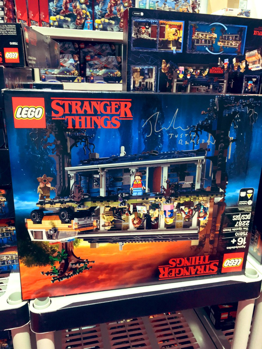 Building #LEGO #TheUpsideDown set this weekend. First saw set at #SDCC2019. Thanks @justinramsden for inspired build with 80s soundtrack. Missing my sea of fanatics #SDCC2020 but we will be back! #ComicConAtHome<br>http://pic.twitter.com/LGB6BPk82A