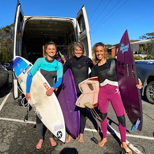 That stoked to be in a frame with these two legends #PamBurridge @LakeyPeterson Epic little surf adventure 🤙🌊 https://t.co/TmHxMRQFWu