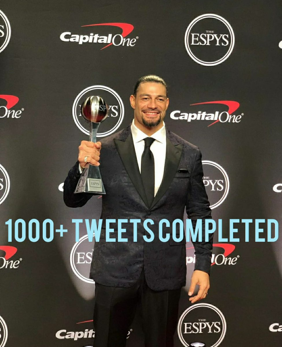 #ComebacksoonRoman  doing gud guys lets make it to 1500+ before 3:00pm<br>http://pic.twitter.com/xG8emKC3WS