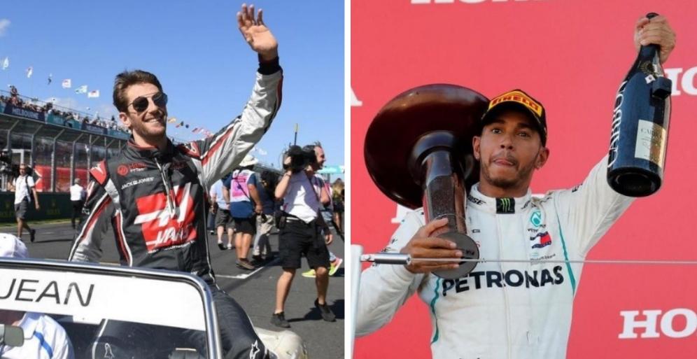 Le Français Romain Grosjean trouve inadmissible que Lewis Hamilton gagne «plus de 40 millions de dollars par an, et d'autres pilotes 150 000 euros, pour faire le même travail» https://t.co/dBIhYTBeAo https://t.co/GNjokQqaDM