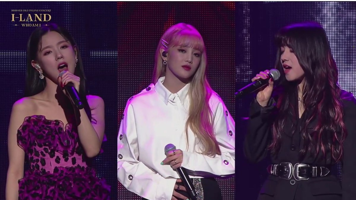 MIYEON , MINNIE AND YUQI THE BEST VOCAL LINE #2020_GIDLE_ILAND #ILANDWORLDWIDEpic.twitter.com/6gNDLHi60g  by J (🐥🐱🦒🏵)
