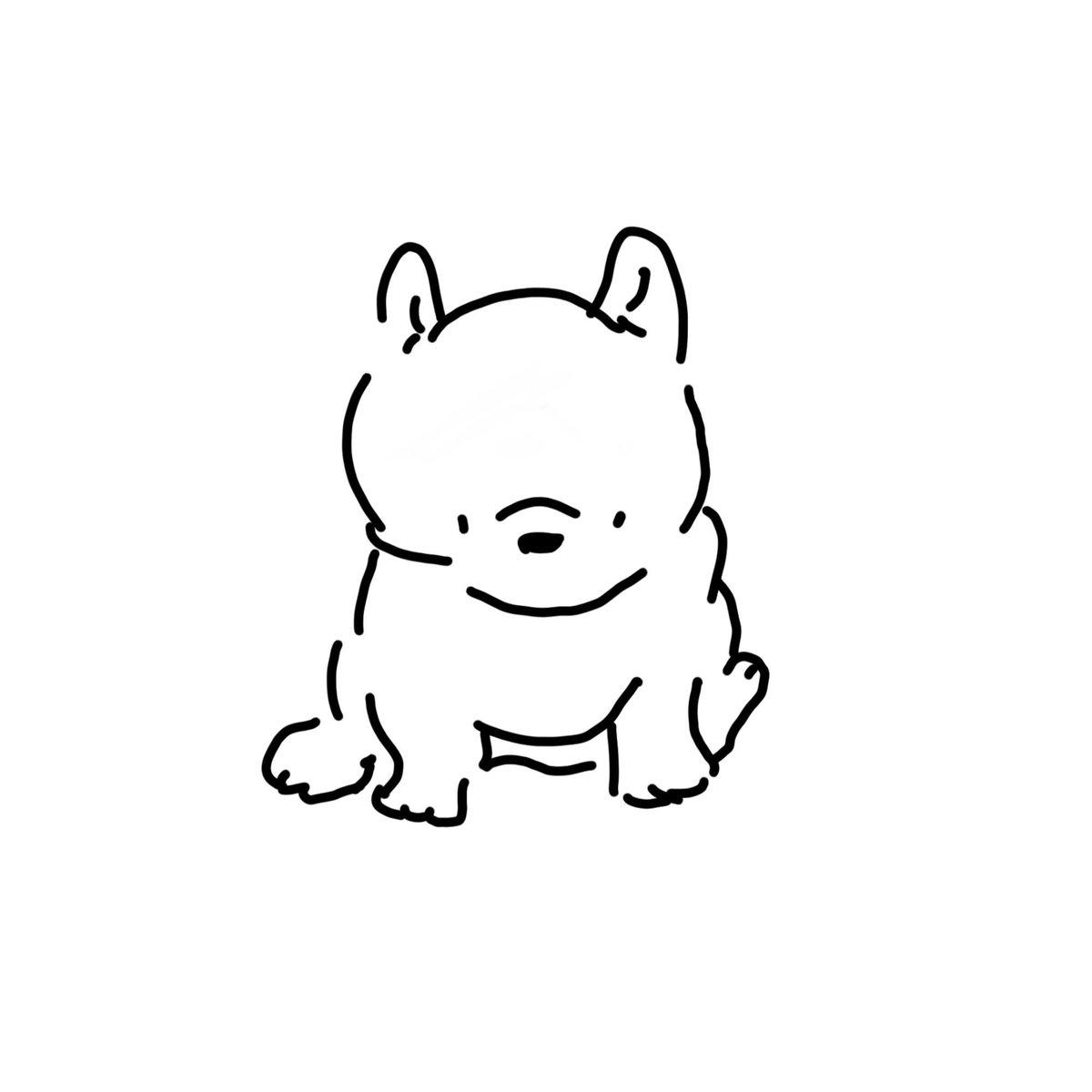 わんころあかちゃんシリーズ。このもちもち感がたまりません〜#ゆるいイラスト #illustration #イラスト #犬 #いぬ #いぬいらすと #犬イラスト #いぬイラスト #フレンチブルドッグ #ブルドッグ #赤ちゃん #もちもちpic.twitter.com/824aECMe7f