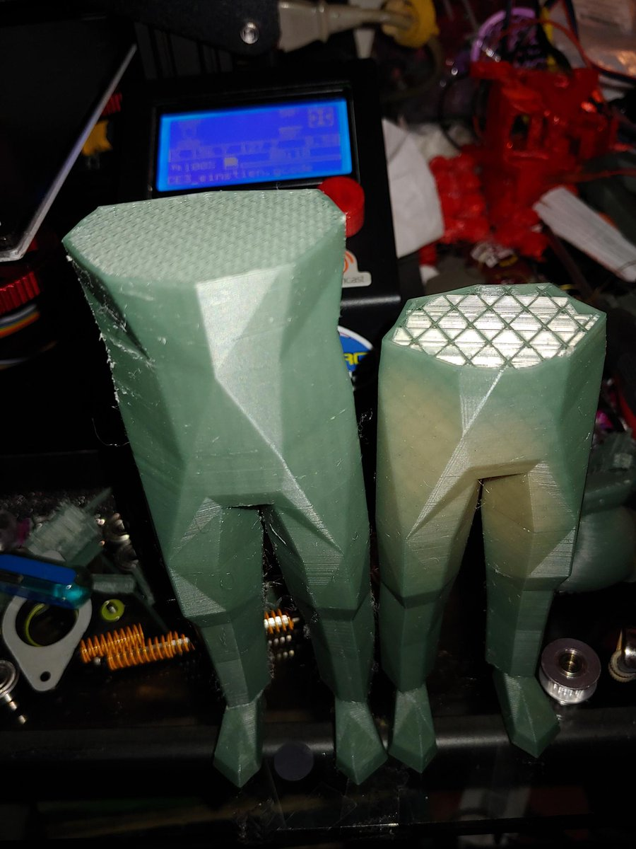 Posted by Sylva #3dprint on our discord: Join us: http://discord.gg/fPmuqzQ  Print and adapt! Getting there.. tried 10 times to print this model and quality keeps improving!  Need some #help or #support with your #3dprinter ? Join us:pic.twitter.com/mayYjD3JDY