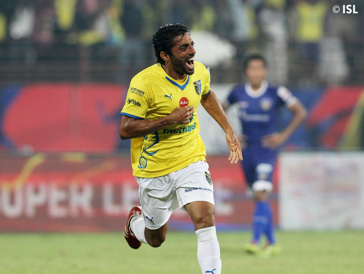 My all-time favourite moment is THAT @SushanthMattheW goal from Hero ISL 2014. Being a Keralite, I have always had a special connection with Kerala Blasters. I started watching the team play from the very first match of the inaugural season and continue to do so, even today.