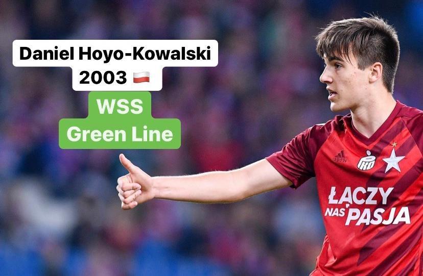 WSS Green Line  Daniel Hoyo-Kowalski  - Wisla Kraków #danielhoyokowalski #wislakrakow #krakow #bialagwiazda #stadionmiejski #poland #ekstraklasa #football #sport #soccer #footballer #futbol #balon #futbolistas #calcio #passion #stats #matchanalysis #analysispic.twitter.com/j0g9jJJnmT