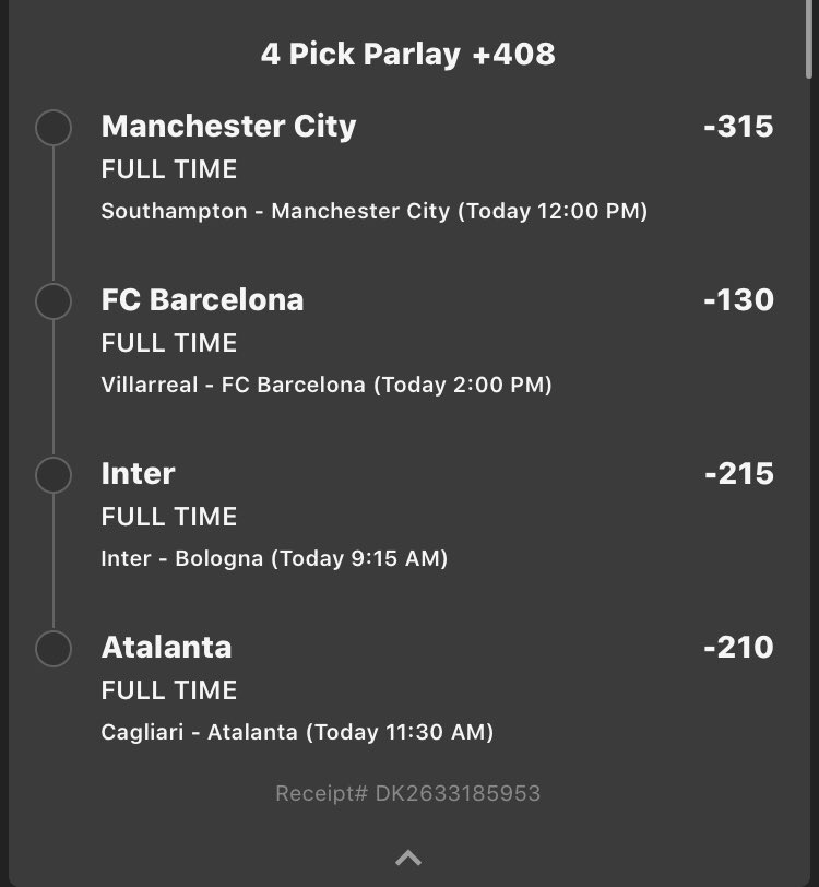 SOCCER BETS Let's finish the weekend off strong! Here's 4 bets I like for tomorrow's slate!  #freesoccerbets #freelineups #freedfspic.twitter.com/733iRLF4n5