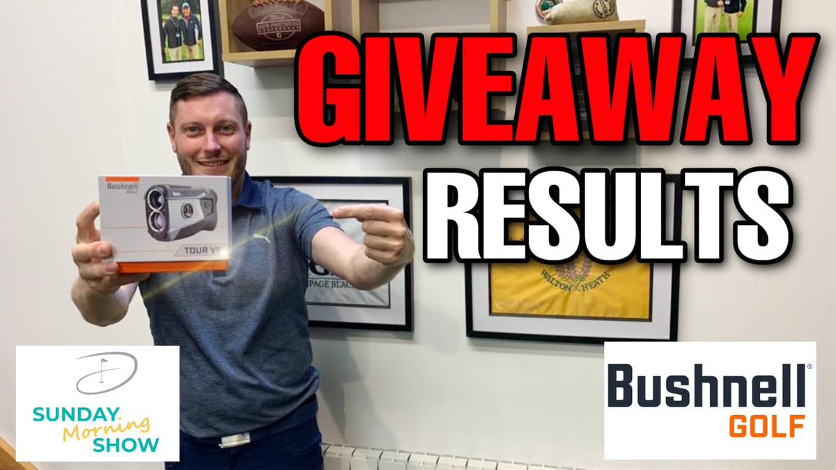 Good morning all, it's Show Time BUSHNELL GIVEAWAY - SUNDAY SHOW youtu.be/RvAtnYEdduY via @YouTube
