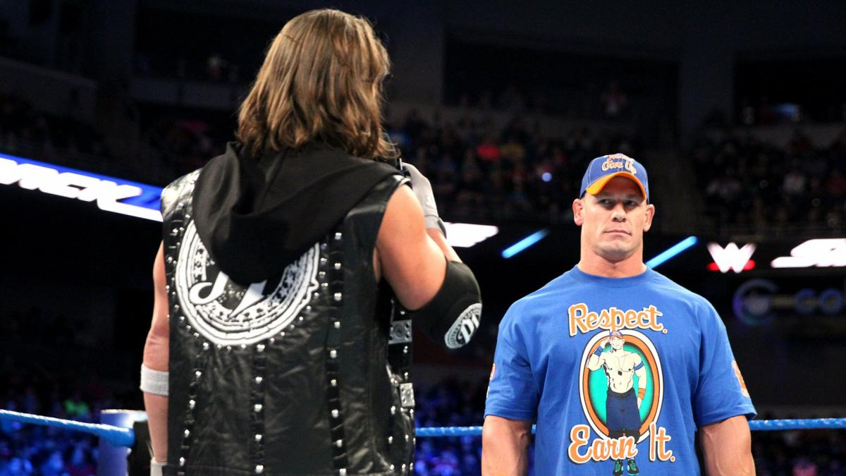 John Cena fue un fiel defensor de la marca NXT en #WWE   👉Antepuso esa idea a traer luchadores de TNA en el pasado https://t.co/Jtw39kv7vx https://t.co/oFc1T4JiDm