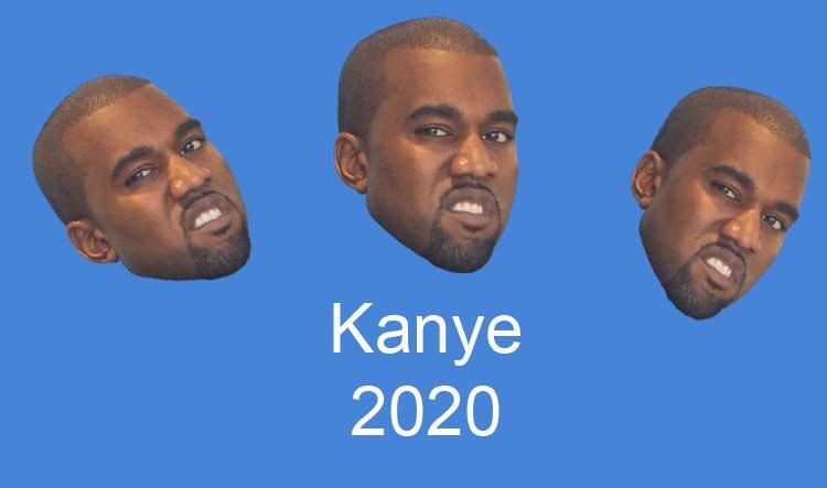 If Virgil designed Kanye's campaign posters #Kanye2020<br>http://pic.twitter.com/lO47fTbGvL