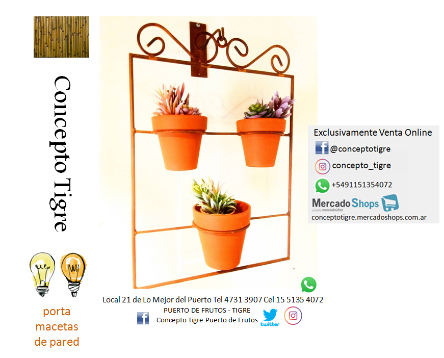 #portamaceta #portmacetas #portamacetasdepared #portamacetasdehierro #suculentas #cactus #deco #decoracion #rusticochic #rustico #puertodefrutostigre #puertodefrutos #puertodefrutosok https://t.co/fXegWqcB65