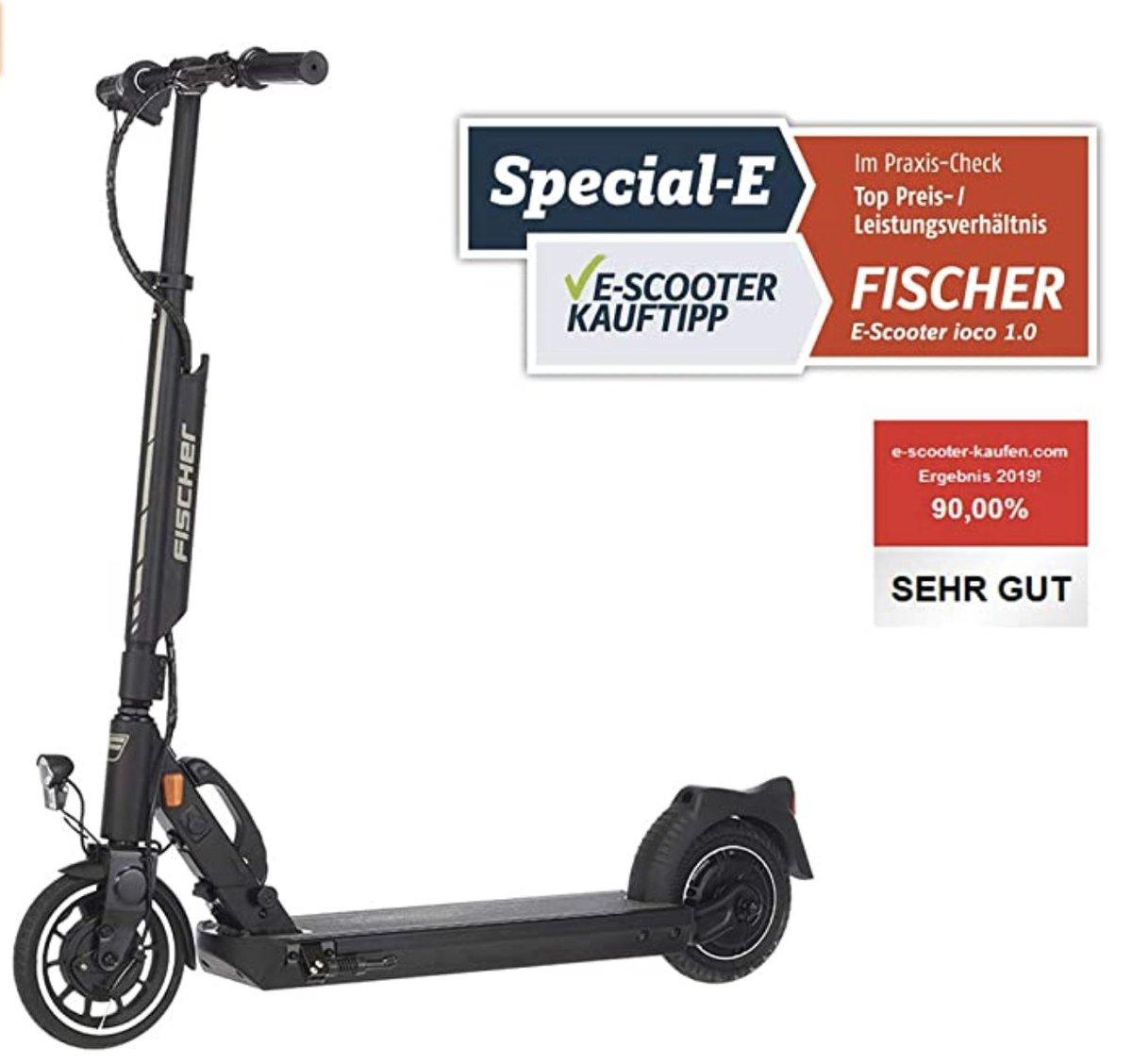€200 Discount — Fischer E-Scooter Elektroroller ioco 1.0 mit Straßenzulassung des KBA •DE https://amzn.to/2DcnrUb pic.twitter.com/LlL4m9i4vk  by Geek Discounts