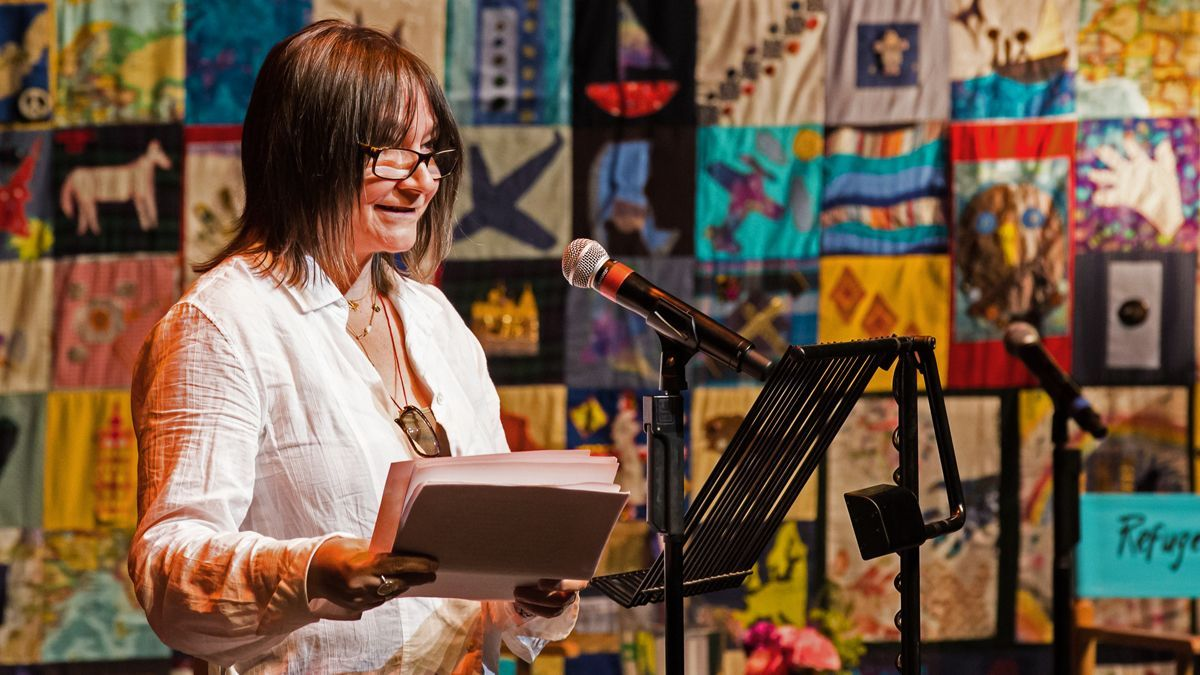 Join RSL Fellow Ali Smith at 1pm today as she calls for a future without detention for @RefugeeTales.You can watch her here:  http://www. refugeetales.org       The finale event event of #RTOnline, with RSL Fellow @RobGMacfarlane, takes place at 7pm today. Register:  https://www. eventbrite.co.uk/e/107217540550    <br>http://pic.twitter.com/lLKx8vXBfq