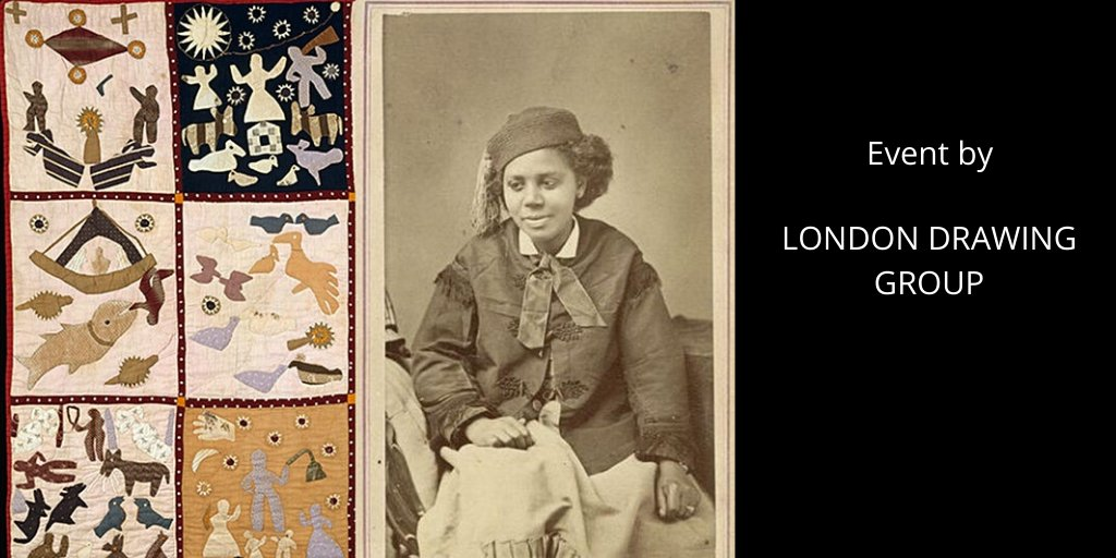 NEEDLE AND STONE: BLACK WOMEN ARTISTS of the 1800s 12 JULY ONLINE EVENT Join London Drawing Group's Luisa Maria MacCormack for our Feminist Leture series dedicated to celebrating the lives and work of Women of Colour in Art History! bit.ly/Blkwomart