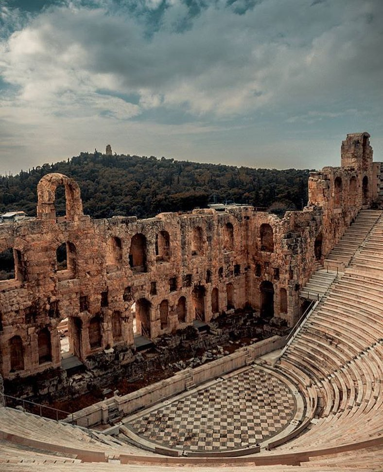 Odeon of Herodes Atticus in #Athens! 💙  Check the #best #tourist #places in Athens at ⏯ https://t.co/Wqg5gA1iLw 👈  📌 BTI Athens #Travel Guide! 🇬🇷🔝 https://t.co/tmaeweIONR