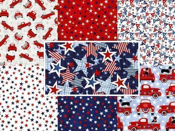 Arriving soon #TruckinintheUSA, #Stars, #Banners, #RedTrucks  Cut to Order,   #Quilting #QuiltingCotton #Sewing #Masks,https://t.co/PGFazuZElW https://t.co/sNAAbW7fxy
