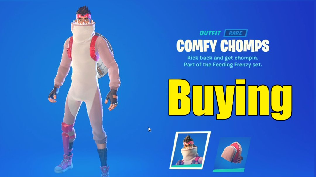 Buying Confy Chomps in Fortnite Item Shop Chapter 2 Season 3 https://youtu.be/CQ6UYYFznwA  via @YouTube  #fortnite #itemshop #confychompspic.twitter.com/4DBGSLOeGv