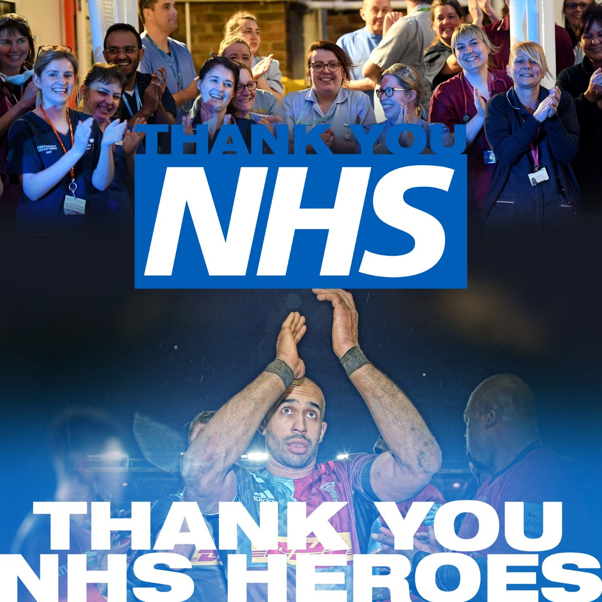 👏 At 5pm we will proudly join other sports to say #ThankYouTogether to celebrate the NHS on its 72nd birthday.  #NHS72 #NHSBirthday https://t.co/sT0QnISGaq