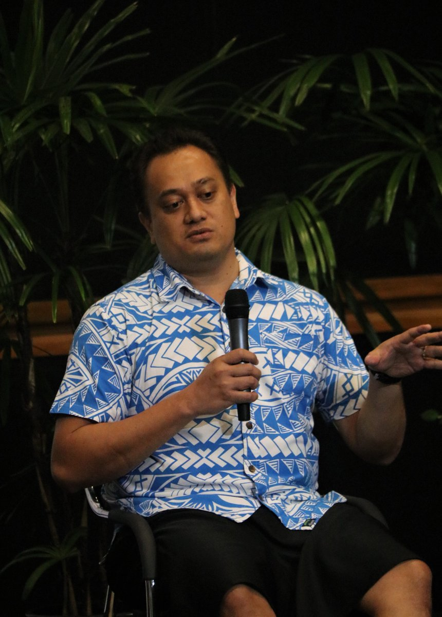 Kenneth Katafono, Founder TraSeable Solutions speaks on the need for a supportive ecosystem to foster #tech #innovation in Fiji.  #RESETFiji @TraSeableFiji https://t.co/Ywp7M2PcuI
