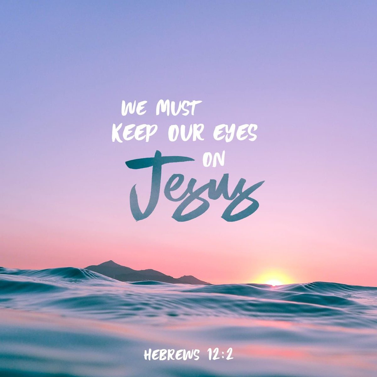 """""""looking unto Jesus, the author and finisher of our faith, who for the joy that was set before Him endured the cross, despising the shame, and has sat down at the right hand of the throne of God."""" Hebrews 12:2<br>http://pic.twitter.com/HNcTgTmMAc"""
