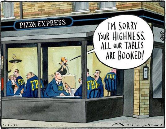 Morten Morland on #PrinceAndrew #GhislaineMaxwell #Epstien #pizzaexpress #sloppyjoe #DukeofYork #JeffreyEpstein - political cartoon gallery in London  http:// original-political-cartoon.com    <br>http://pic.twitter.com/sIC8aRJEKk