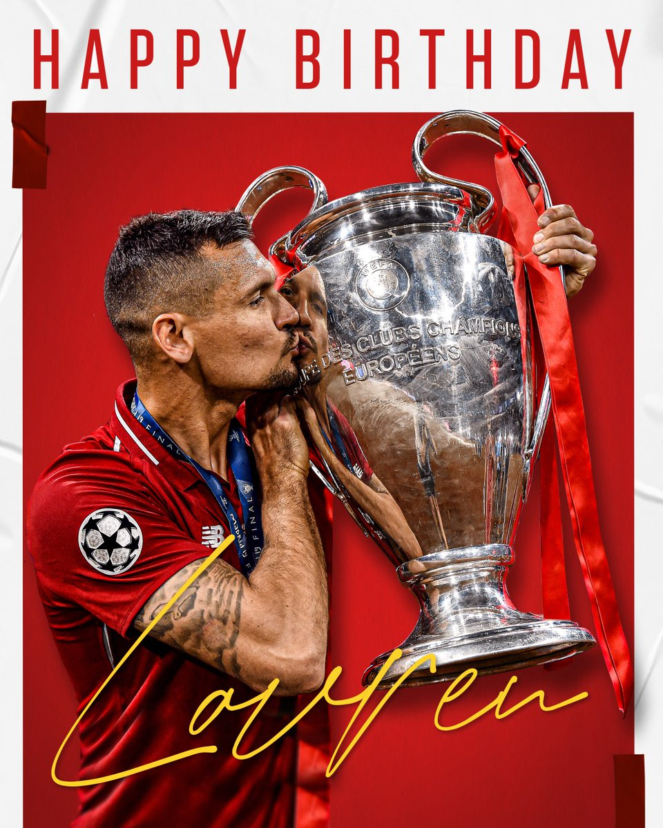 Happy birthday, @Dejan06Lovren 🥳  Hoping for three points as the perfect present 👊 https://t.co/OwiZYybH4Z