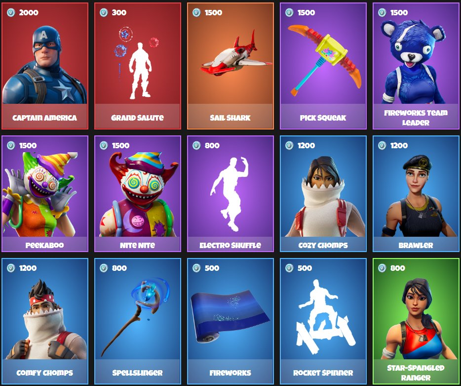 This is today's Daily Item Shop from July 05, 2020. Top or flop?  Write it in the comments. And don't forget my Giveaway! You can win 5.000 V-Bucks!  #Fortnite #Fortniteitemshop #Fortnitenews #itemshop #fortniteseason3 #daily #skins #Giveawaypic.twitter.com/ytD4sYQSLO