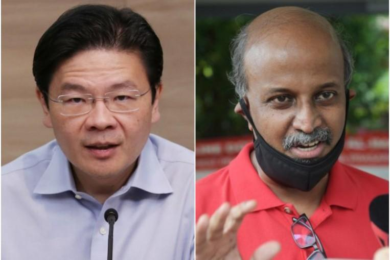 GE2020: Lawrence Wong refutes SDP chair Paul Tambyah's remarks on Covid-19 task force as 'baseless and false' https://t.co/BhJsLc5p9v https://t.co/Ok0rxOhTCw