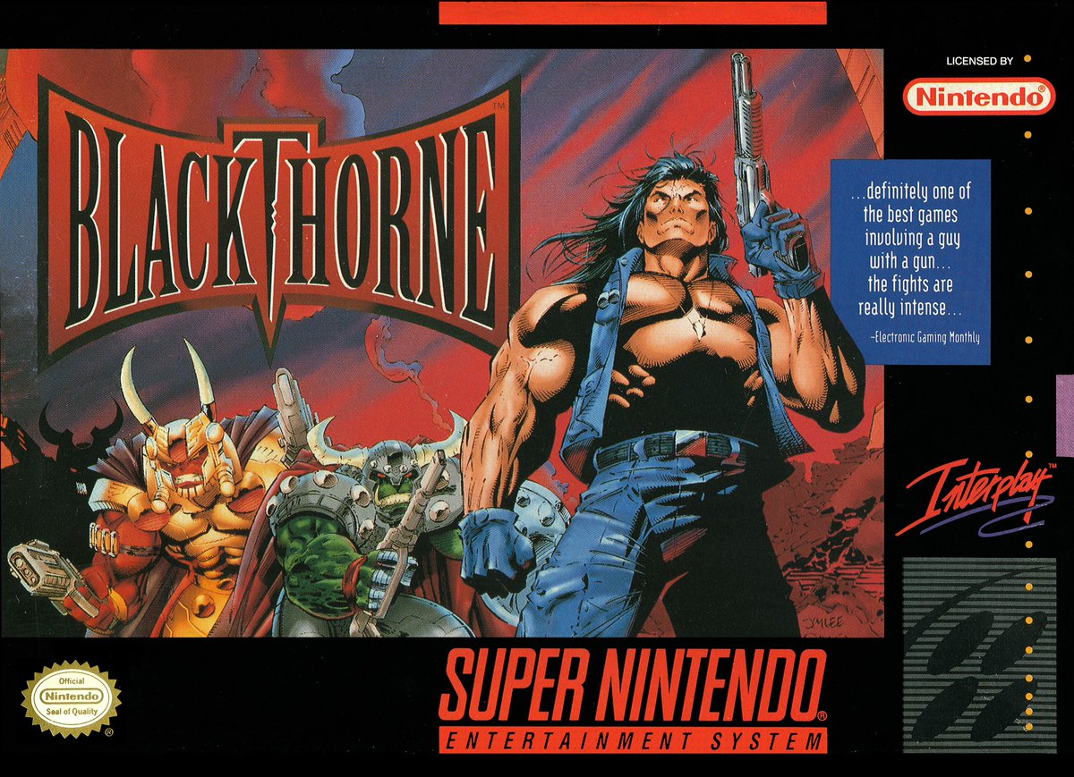 SNES SUNDAY: BLACKTHORNE In 1994 Kyle returned to Tuul to free it from the clutches of the evil Sarlac. An action platform game from Blizzard Entertainment this also came to the PC, GBA & Sega 32X, did you ever become the king of Androth? #retrogaming #Nintendo #SNES #90s #gamingpic.twitter.com/n87S68HoK9