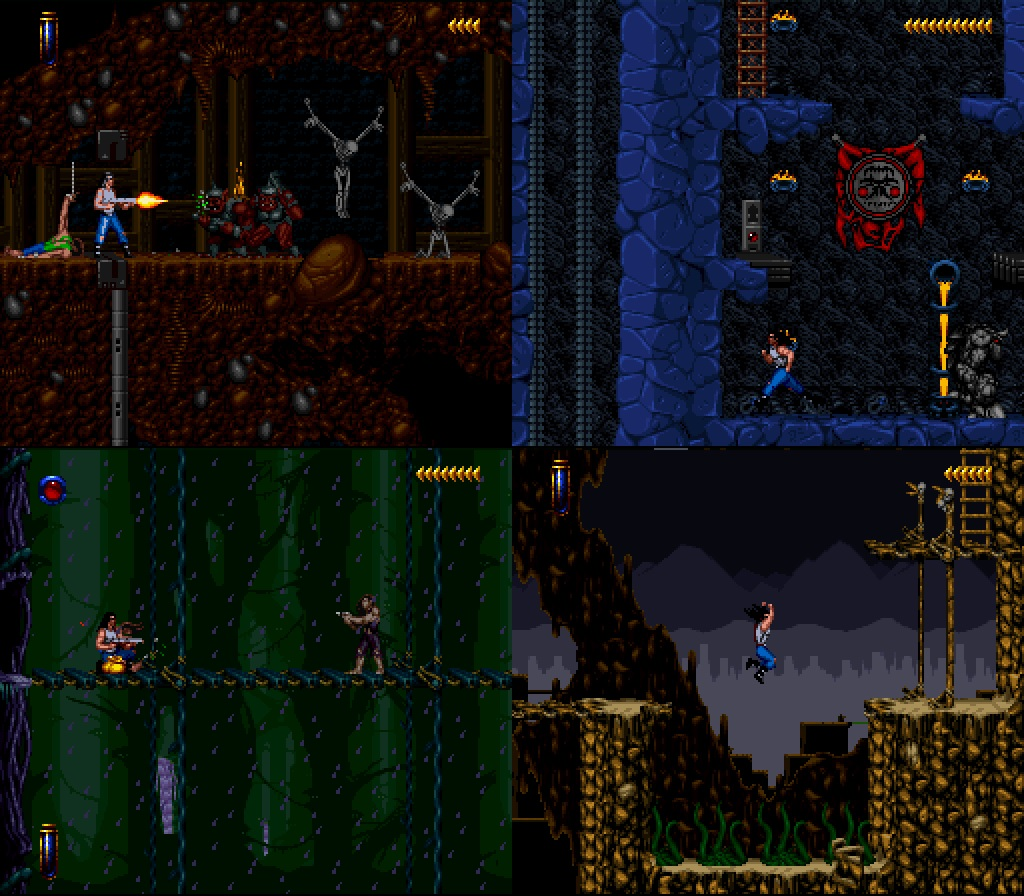 Retro Game Ghouls On Twitter Snes Sunday Blackthorne In 1994 Kyle Returned To Tuul To Free It From The Clutches Of The Evil Sarlac An Action Platform Game From Blizzard