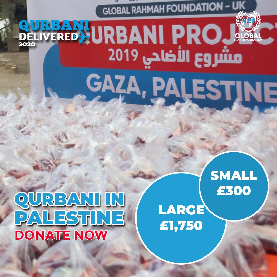 Follow the Sunnah and provide Qurbani to those in need. It's simple - You donate. We deliver.  #Helpustohelpthem by clicking the link below: https://t.co/TwkAdbzXIt  #Qurbani #Qurbani2020 #Eiduladha #Eid #Sacrifice #ProphetIbrahim #Quran #Islamic #Peace #Barakah #Palestine https://t.co/eunq5r8wNG