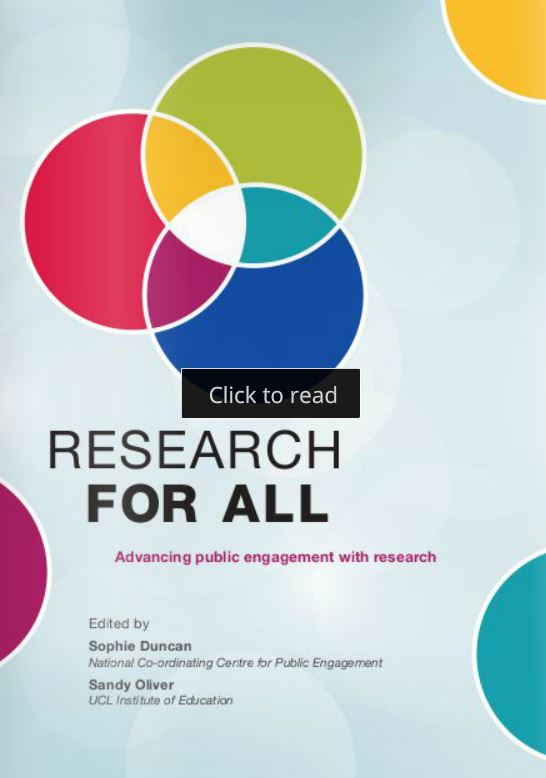 ICYMI! Editors Sophie Duncan & @profsandyoliver introduce @Research4A 4.1. D/L #openaccess article here! #engagedresearch #publicengagement @NCCPE https://t.co/4JAiQGsB7J https://t.co/7kME7qPxIV