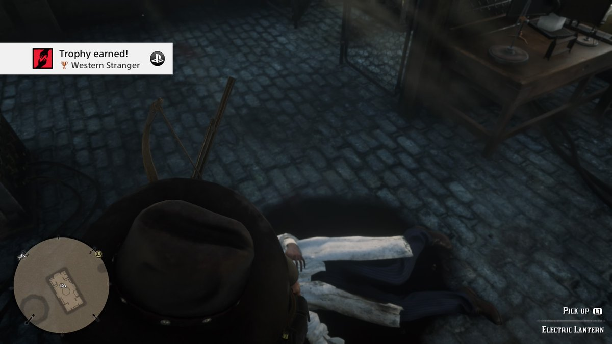 #RedDeadRedemption2 Western Stranger (Bronze) Complete 10 Stranger mission strands. #PS4share #RDR2 #trophies https://t.co/ABwm2GhOzg