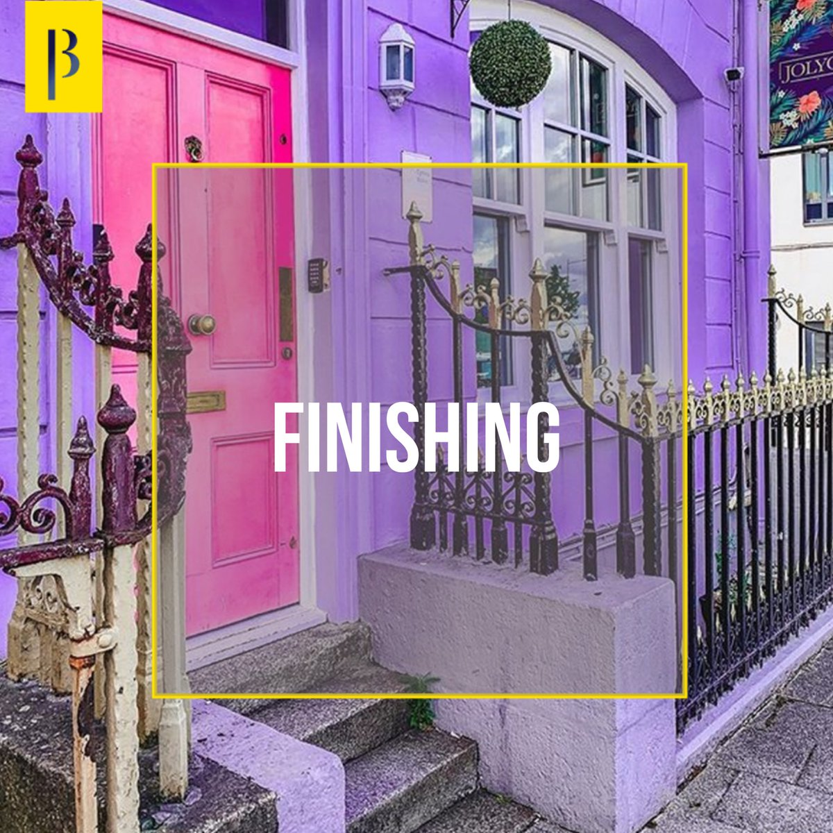 """تعرف على مصطلحات معمارية ••• """"FINISHING"""" - """"تنعيم، إنهاء"""" ... مصطلح يقصد به الأعمال النهائية للمبنى https://t.co/fycYCqRKgU"""