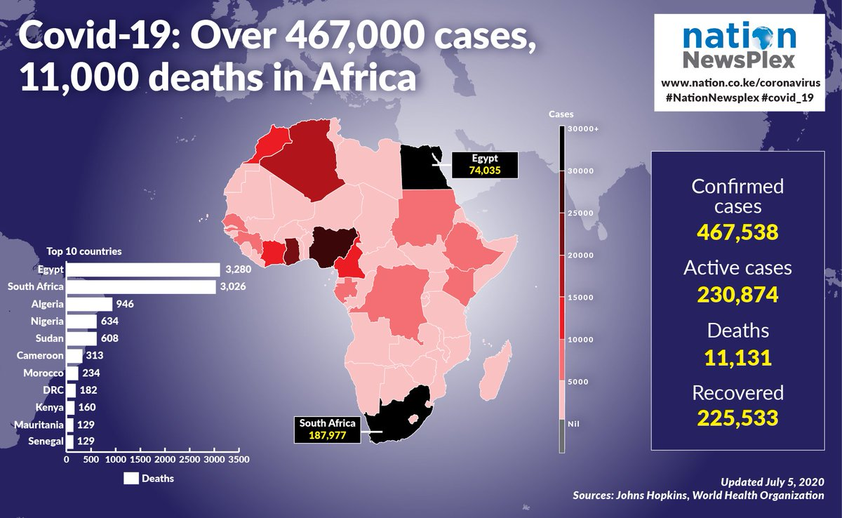 These countries that are reporting Covid cases bear the burden of lack of leadership.This pandemic wasnt meant for Africans but they chose to go to bed with lies and evil treacheries.We are Africans and Africa is our business pic.twitter.com/FsGgV37Z3R