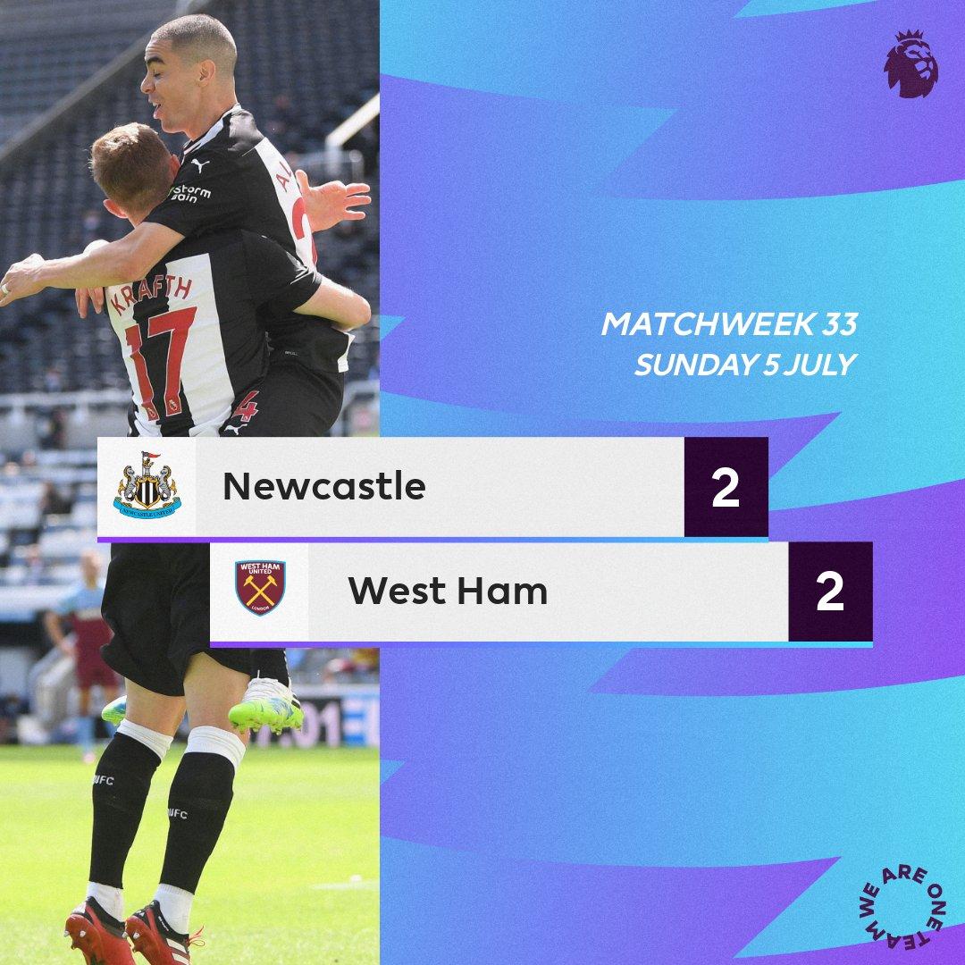 Newcastle-West Ham United