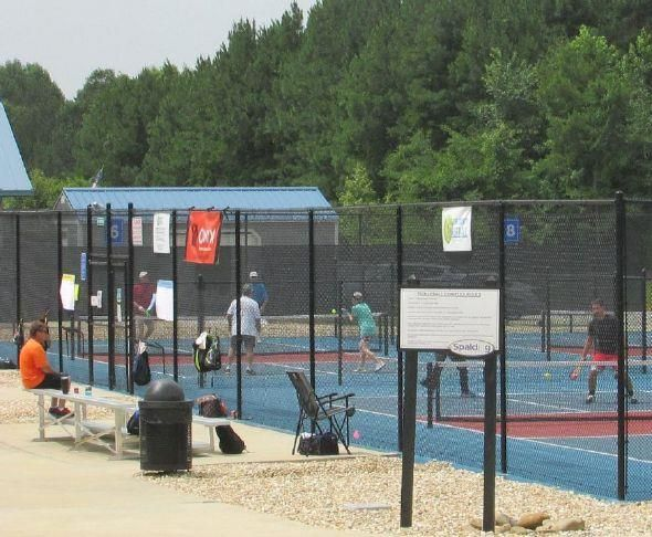 """Welcome back - """"Spalding County Pickleball Association held a grand re-opening 'Welcome Back' round-robin tournament on Saturday, June 27 as part of its official return to the pickleball courts at Wyomia Tyus Park..."""" https://buff.ly/3f1gravpic.twitter.com/LUommUoksT"""