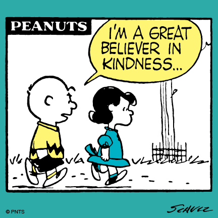 Kindness never goes out of style.