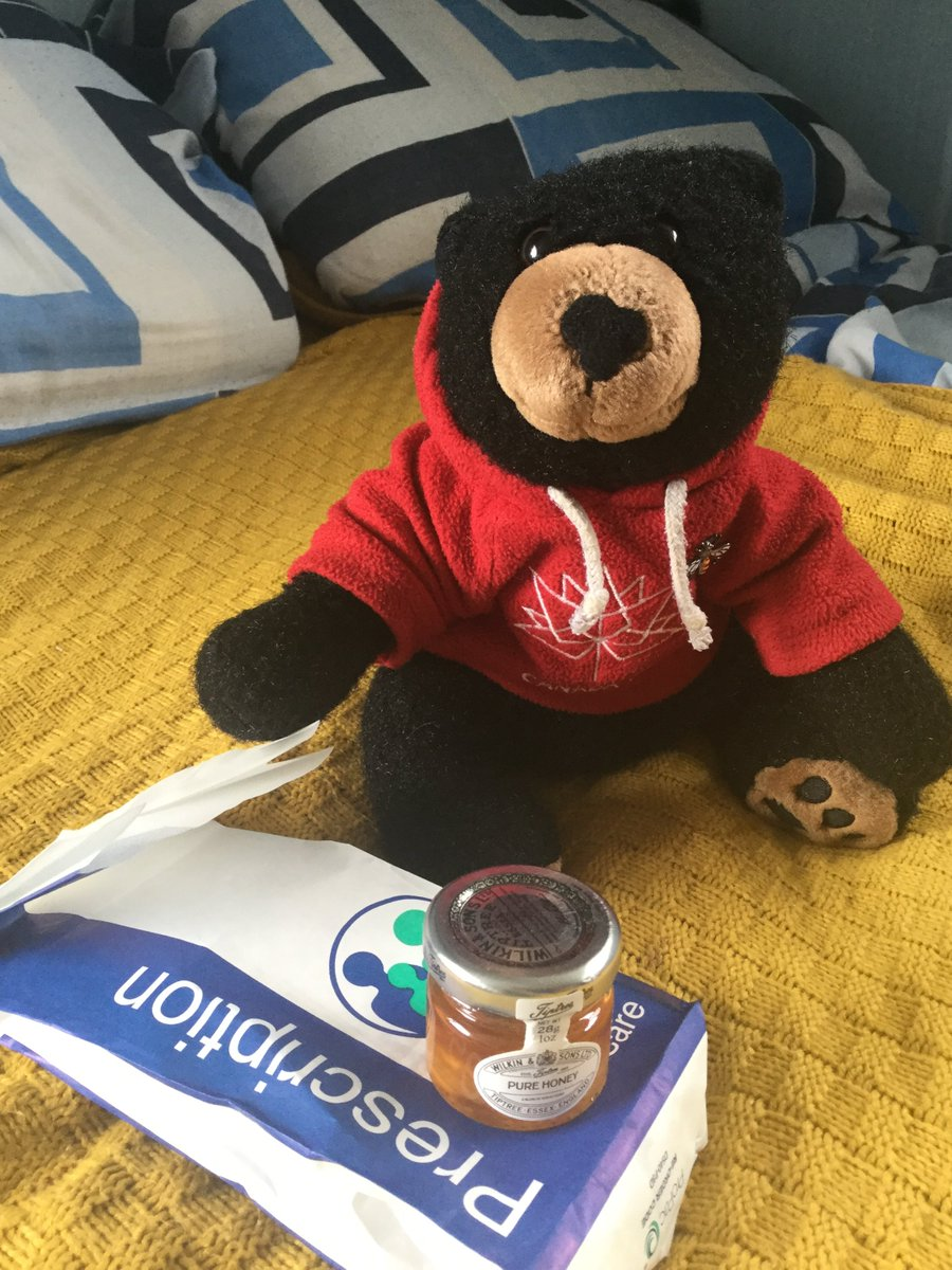 Day 103 of Isolation:  Happy Birthday #NHS!  Thankfully I'm in good health, but it is good to know you are there if I ever get my paw stuck in a honey jar!  🐻🍯🏥  #NHSBirthday #NHS72 #clapforNHS #ClapForTheNHS #coronavirus #COVID19 #StayHome #StaySafe #lockdown https://t.co/zYIr0E7z23