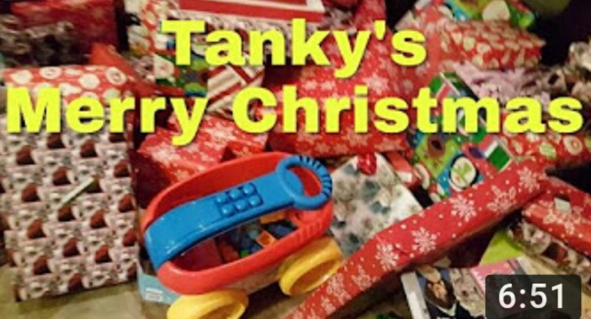 #MerryChristmas (part 2)   Watch the video: https://youtu.be/QiSy0FMLMzcpic.twitter.com/g00xfUp7Xi
