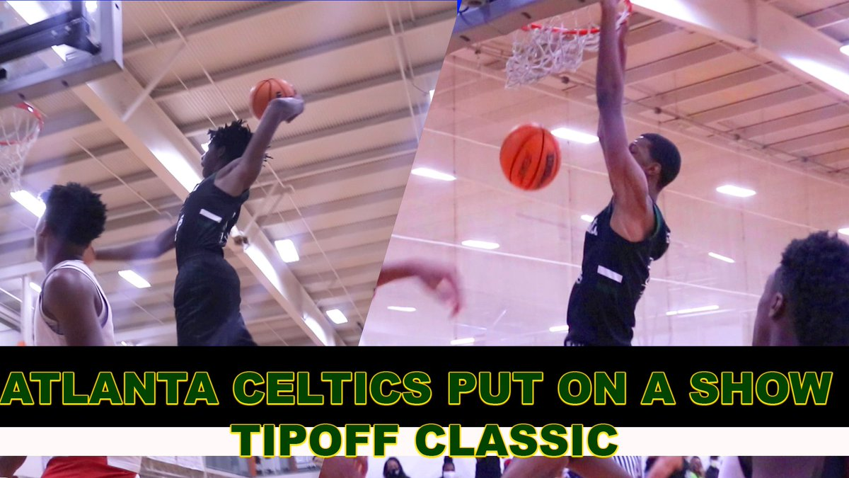 Atlanta Celtics Make easy work of the competition @thetipoffclassi. Raw Highlights vs ABC Elite.  https://t.co/WJncpBD57G https://t.co/SE83uUiQiC