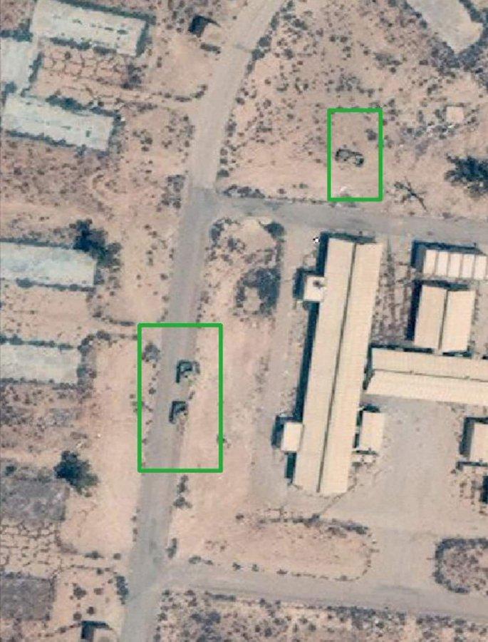 هل الطيران الذي ضرب قاعدة الوطية الجوية في ليبيا مصري أم فرنسي .. مصدر عسكري يجيب