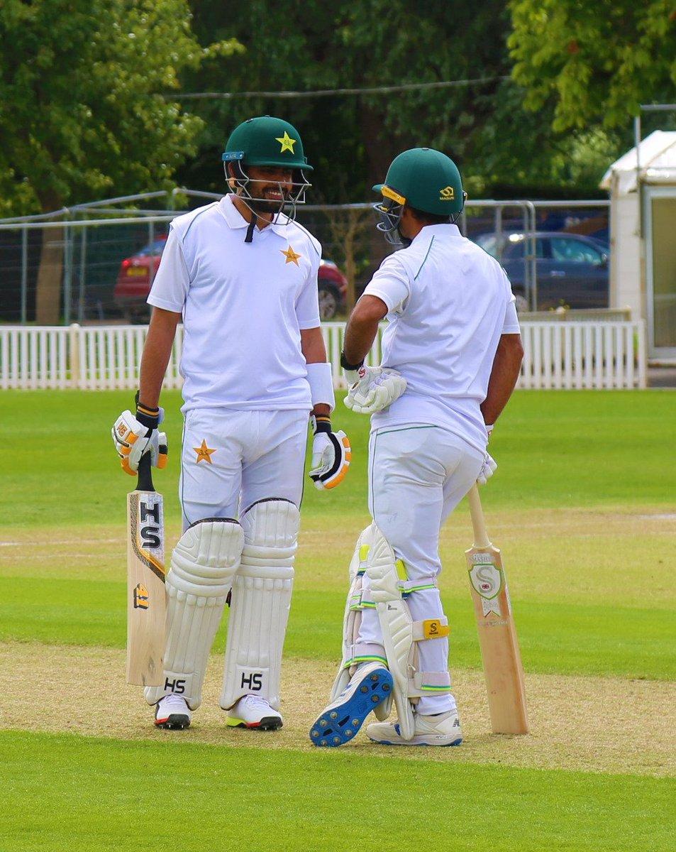 Highlights of Pakistan team practice match played today at Worcester, England.  PC: PCB  #ENGvPAK #Cricket #Pakistan #BabarAzam #AzharAli #NaseemShah #ShaheenShahAfridi #AsadShafiq https://t.co/hyr1InbEtj