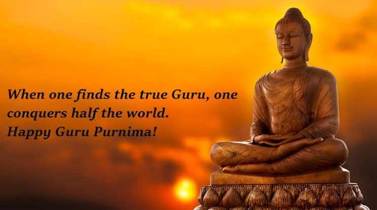 I thank all my teachers who have guided me at every step & my Gurus for giving me strength to stand strong. Greetings on the occasion of #GuruPurnima pic.twitter.com/lVi4zwLoWu