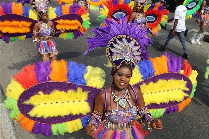 """Calabar Carnival festival in Nigeria, also tagged """" Africa's Biggest Street Party"""", was created as part of the vision of making the Cross River State, Nigeria, the number one tourist destination for Nigerians and tourists all over the world.  Amazing festival 🥰 https://t.co/u0d7tiTFA0"""