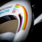 An important message as we return to the track: #WeRaceAsOne 🌈  #AustrianGP 🇦🇹 | #WeAreWilliams 💙