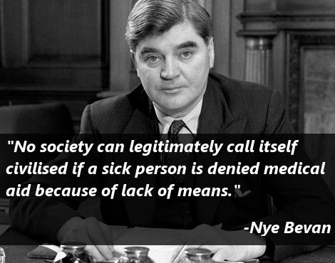 We forget how difficult life was before the NHS was established. The NHSs 72nd birthday is the time to remind ourselves what a crowning achievement it represents for British society.