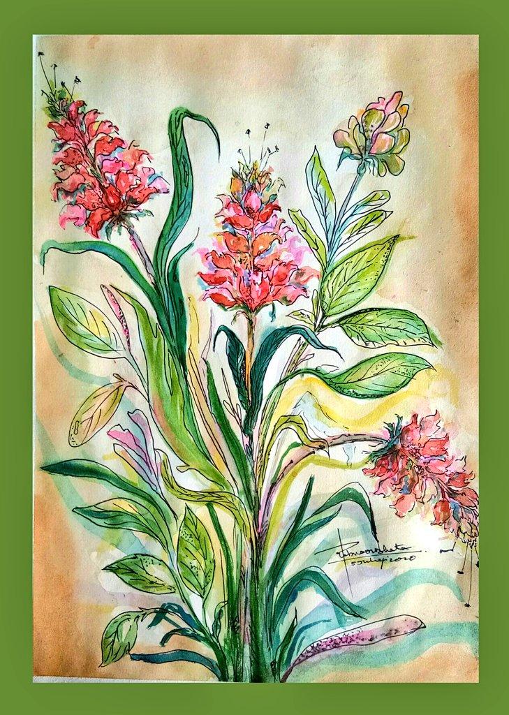 Unreal things r more prettier always, they have magical healing powers  #FLOWERFLOWER #Flowers #unreal #Peace #happiertogether #naturelovers #Watercolourpainting #watercolorart #ArtistOnTwitter #Artnews #artnet #artblast  #imagination #painting #artmag @artnews @NatGalleryCanpic.twitter.com/HBQvd45NDg
